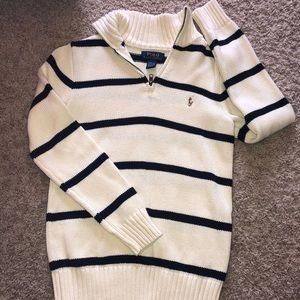 Ralph Lauren polo long sleeve sweater boys 10